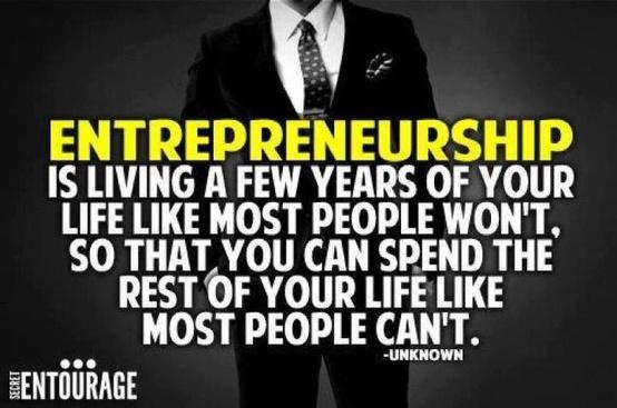 Definition of entrepreneurship