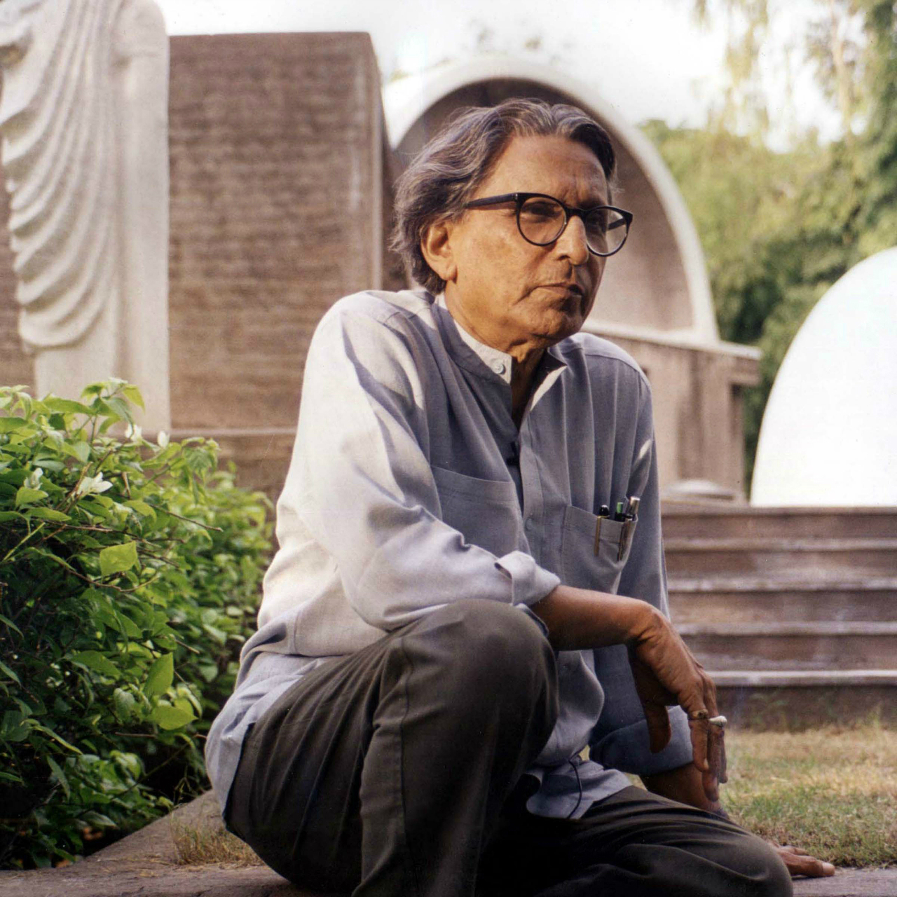 B. V. Doshi Mr Doshi Father of Indian Architecture