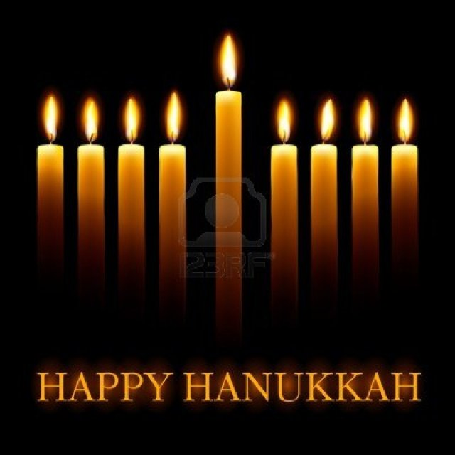 11662571-vector-happy-hanukkah-greeting-card-with-candles-on-black-background