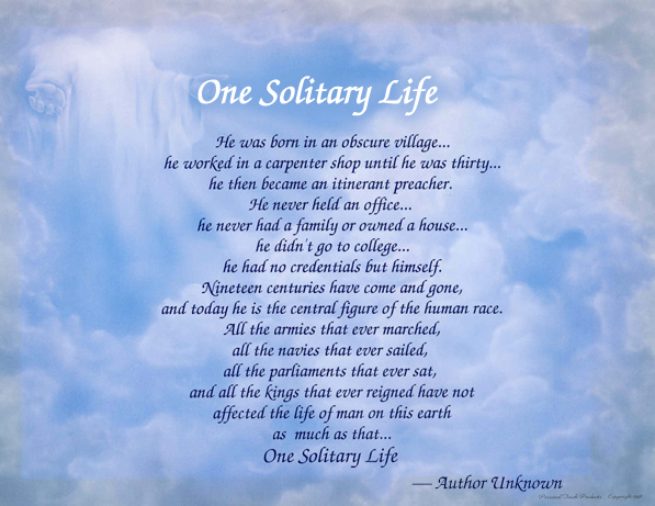 one_solitary