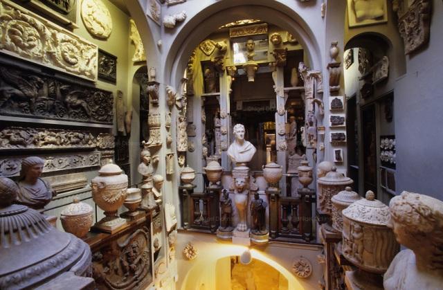 Sir John Soane's museum, London, England, Great Britain