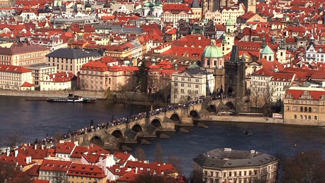 The city of Prague Czech Republic_3