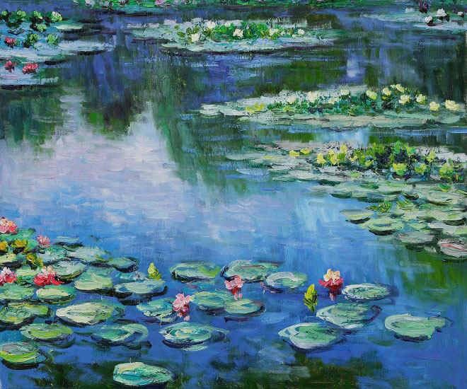 Thank you claude monet talesalongtheway for Monet paintings images