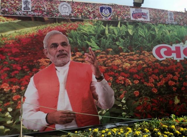 narendramodi-poster-flowershow2015