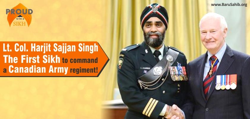 Officer of Distinction . .Harjit Singh Sajjan